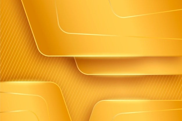 Layes of gold luxury background