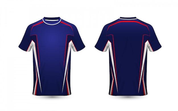 레이아웃 전자 스포츠 티셔츠 디자인 서식 파일