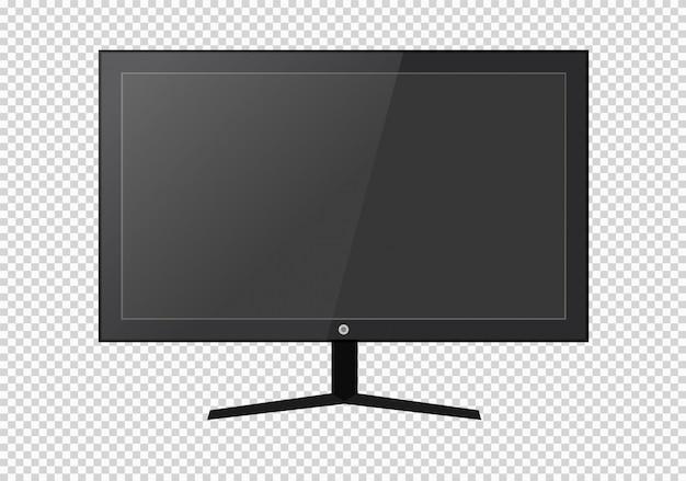 空白のlcd画面、プラズマディスプレイ、またはテレビ。