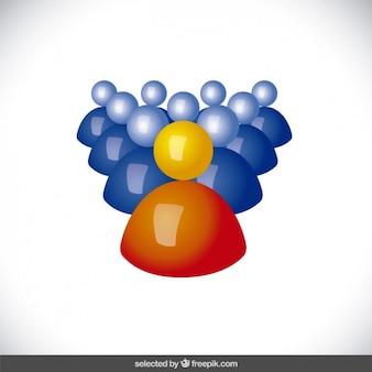 Leader concept avatar