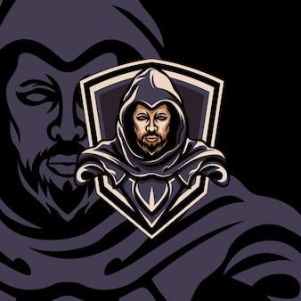 Leader shield esport gaming mascot