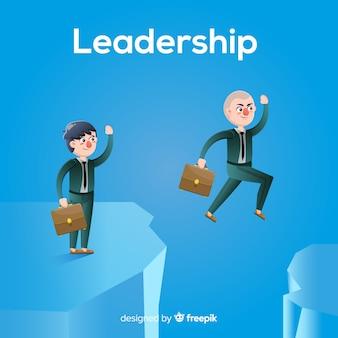 평면 디자인의 리더십 배경