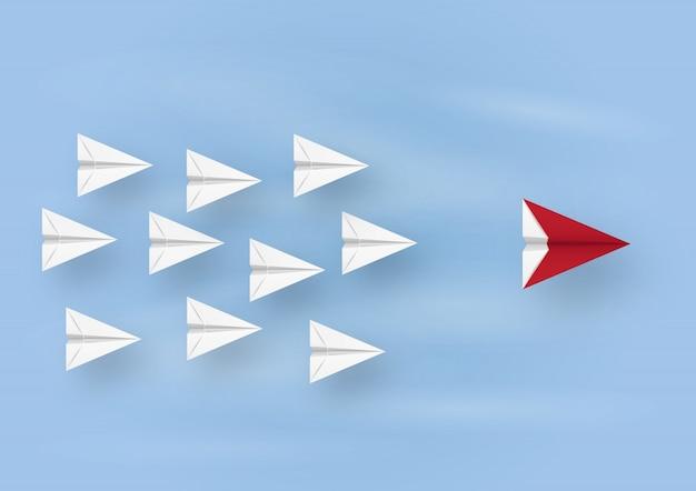 リーダーシップ飛行機の目標飛行の目標