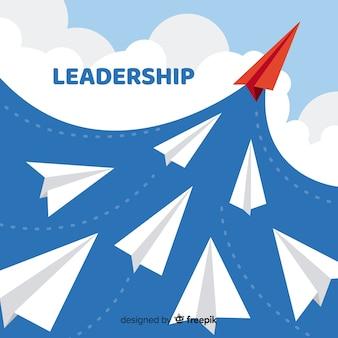 Leadership paper planes