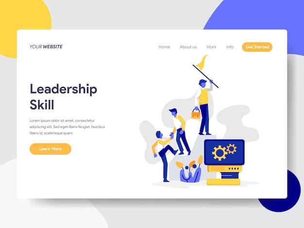 Leadership skill illustration