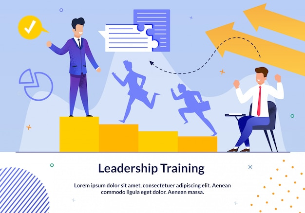 Leadership training slide set