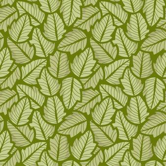 Leaf Green A lot Pattern