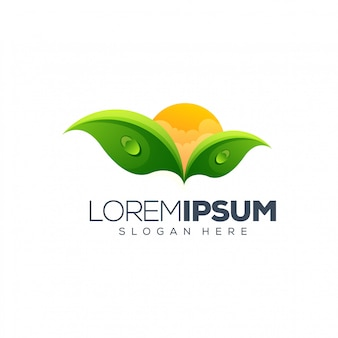Leaf logo design