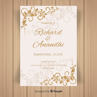0873effa0fa4 Invitation Card Vectors