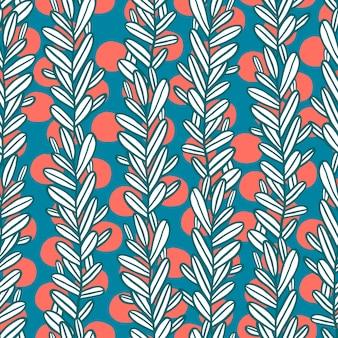 Leaf pattern backgound