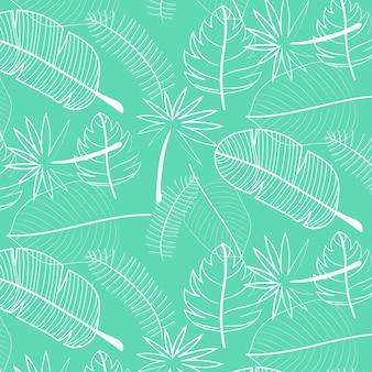 Leaf pattern background.