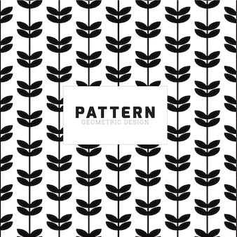 Leaf shape seamless pattern design