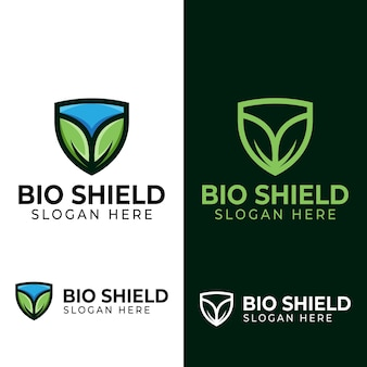 Leaf shield logo