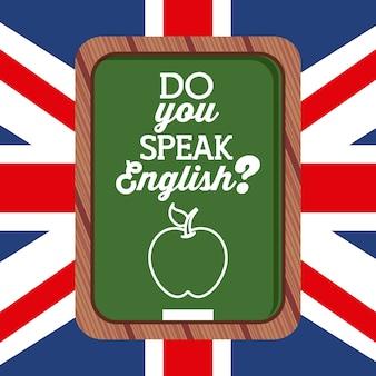 영어 디자인을 배우고, 벡터 일러스트 레이 션 eps10 그래픽
