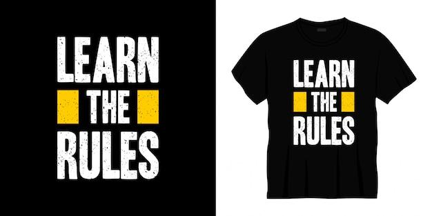 Узнать правила оформления футболки типографии