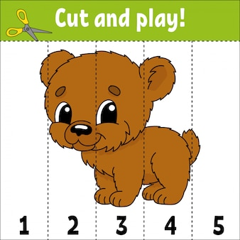 Learning numbers. education developing worksheet. game for kids.