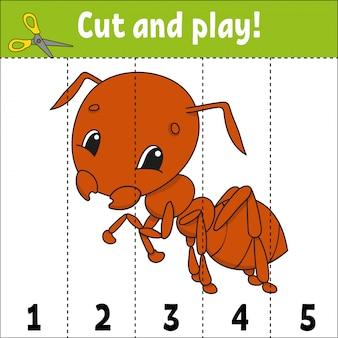 Learning numbers. education developing worksheet.