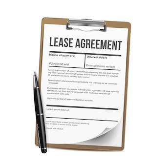 임대. 주택 임대 빈 문서 임대. 계약 대출 재산
