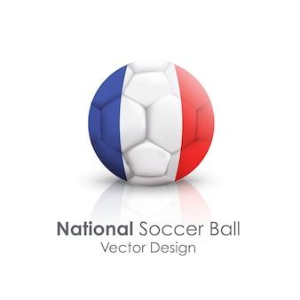 Leather ball team international symbol