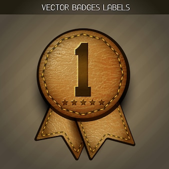 Leather best label