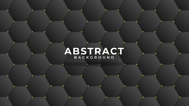 Leather texture abstract polygonal pattern luxury dark blue with gold