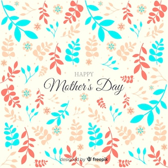 Leaves mother's day background