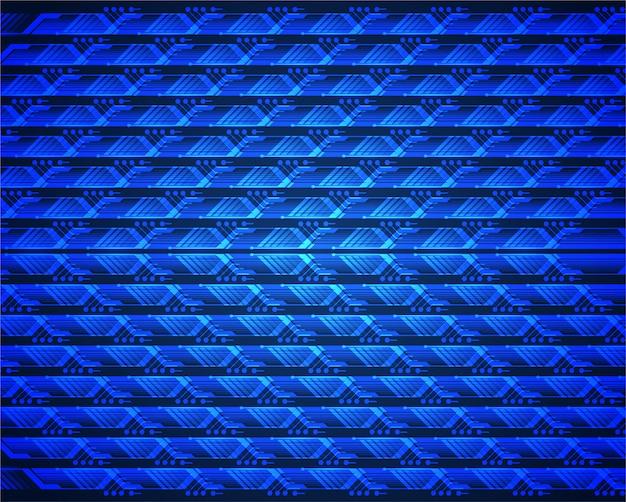 Led blue cinema screen for movie presentation.