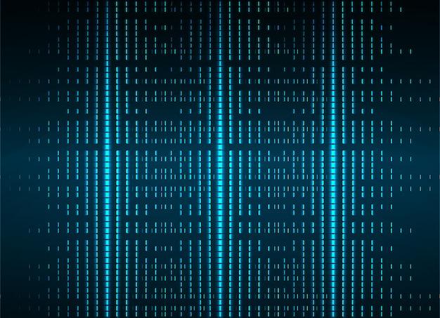 映画のプレゼンテーション用のledシネマスクリーン。光の抽象的な技術の背景