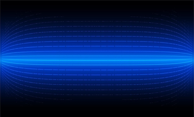 Led cinema screen for movie presentation blue light abstract