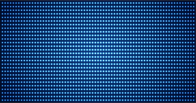 Led cinema screen for movie presentation. light abstract technology background
