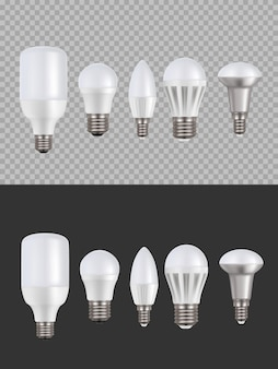Ledランプ、蛍光灯3d電球セット