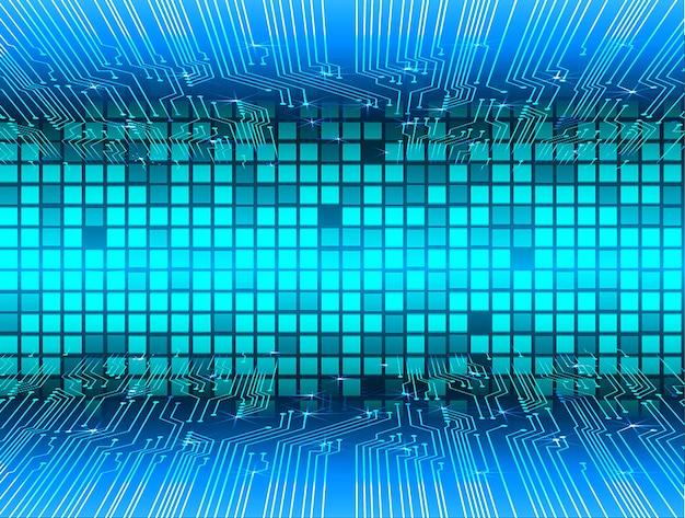 Led pixel mosaic table point net