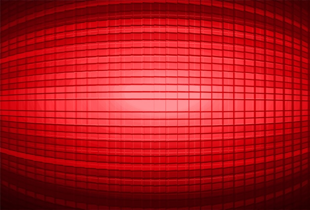 Led red cinema screen background
