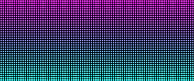 Светодиодный экран. цифровой дисплей с точками.