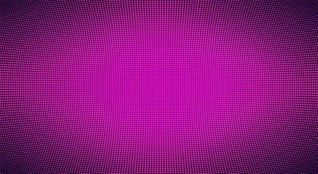Светодиодная текстура экрана. цифровой дисплей. тв пиксельный фон.