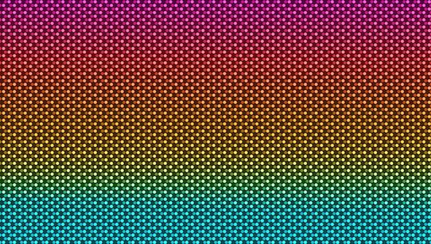 Светодиодная текстура экрана. пиксельный цифровой дизайн. жк-монитор с точками.