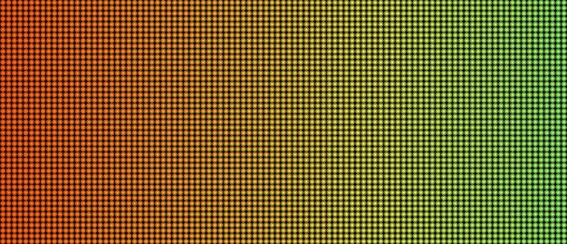 Ledスクリーンマクロテクスチャ投影の背景。