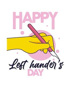 左利きの日のお祝い