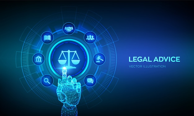Legal advice background