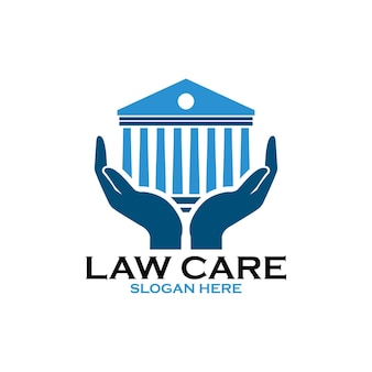 法律事務所のロゴの法務部