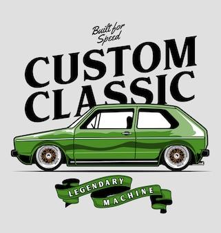 Legendary custom car