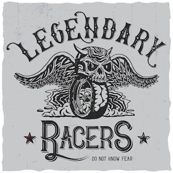 Лейбл legendary racers
