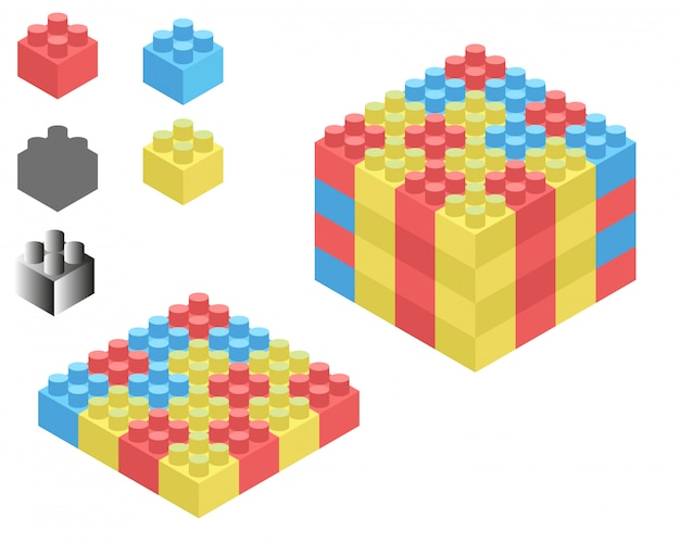Lego isometric