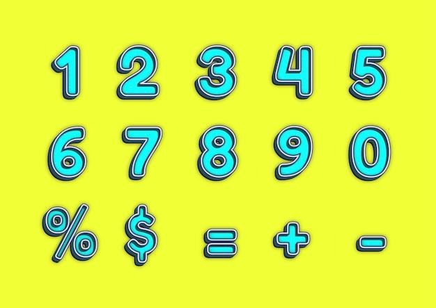 레고 장난감 블록 조각 숫자 세트