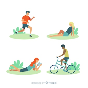 Leisure activities collection