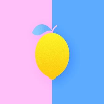 Lemon on duo pop color