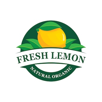 Lemon farm logo emblem