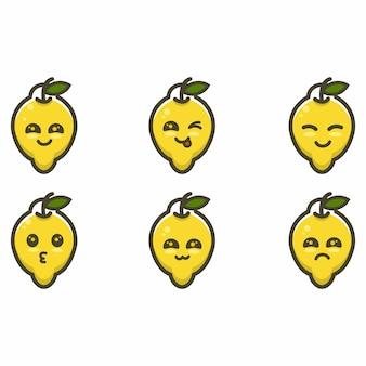 Lemon mascot character cartoon