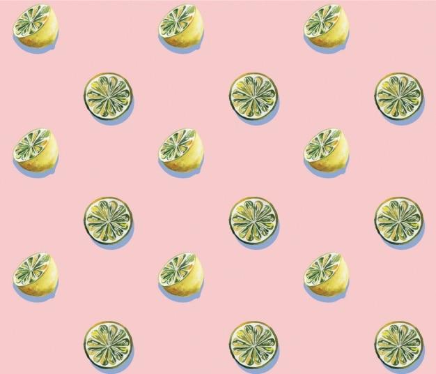 Lemon pattern design