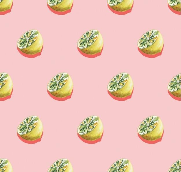 레몬 패턴 디자인